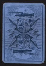 Vintage Collectible RARE Playing Cards Shipping Line single P&O.   #107